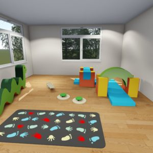 Parkour path - flexible playroom pack